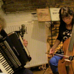 Thijs Hanrath met Marianne Kokkelmans